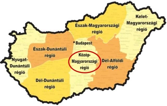 A Közép-Magyarországi régió versenye