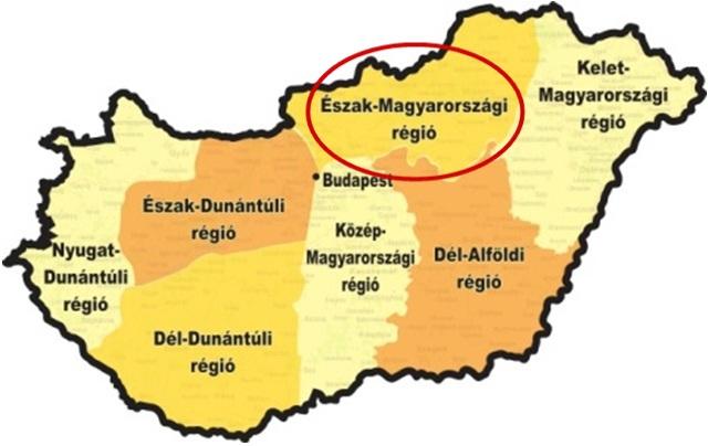 Az Észak-Magyarországi régió versenye
