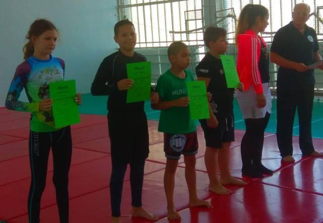 A NoGi Ifjúsági I. kategória kategória végeredménye