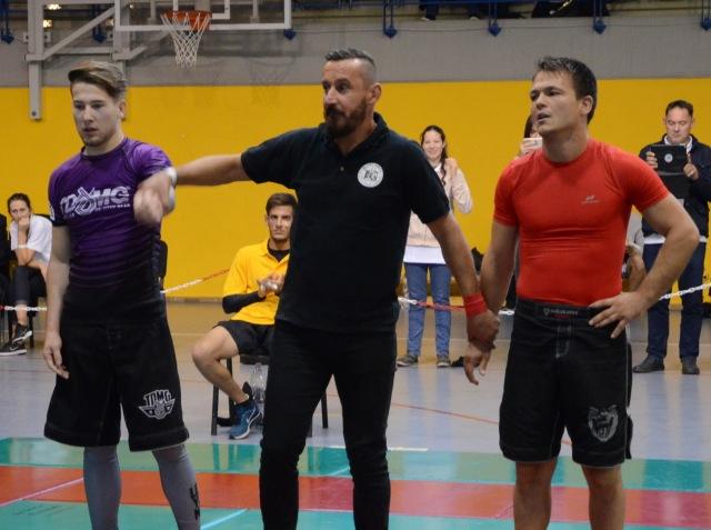 A NoGi Férfi 77 kg. kategóriában Magyar Bajnok Szűcs András