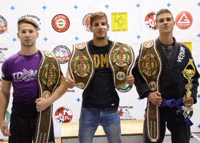 A Tatami Centrum versenyzői négy bajnoki övet szereztek