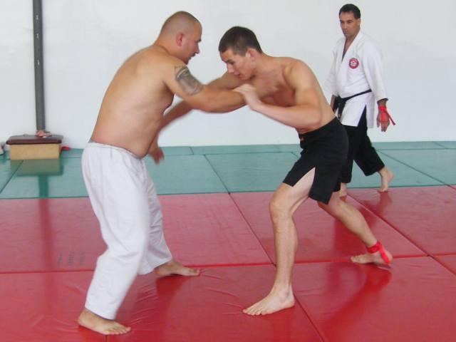 Szűcs Kristóf és Rohács Norbert küzdenek az I. Gyakorló Versenyen 2010. június  19.-én Kecskeméten