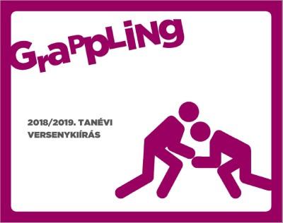 2018/2019 tanévi Grappling Diákolimpia