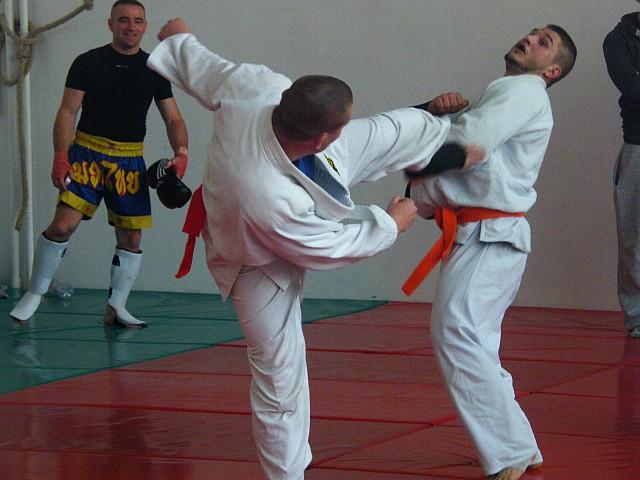 Combat Grappling mérkőzés a XI. Gyakorló Versenyen