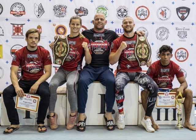 A Wolf Fight Club versenyzői kettő bajnoki övet szereztek