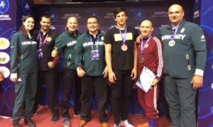 Magyar résztvevők a Grappling Világbajnokságon