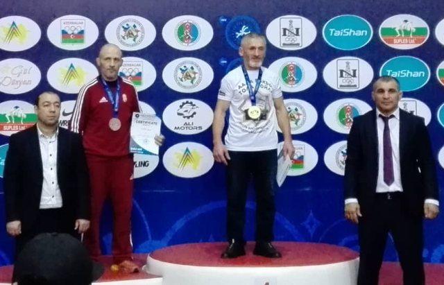 dr. Kléber István a Világbajnokság dobogóján