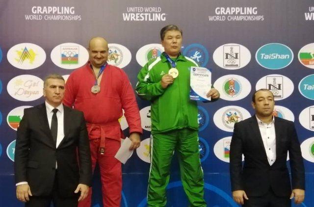 Ambrus Tibor a Világbajnokság dobogóján