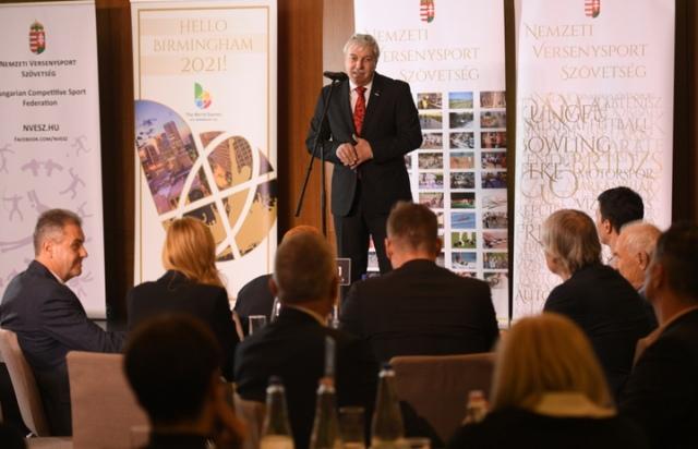dr. Mészáros János, a Nemzeti Versenysport Szövetség elnöke