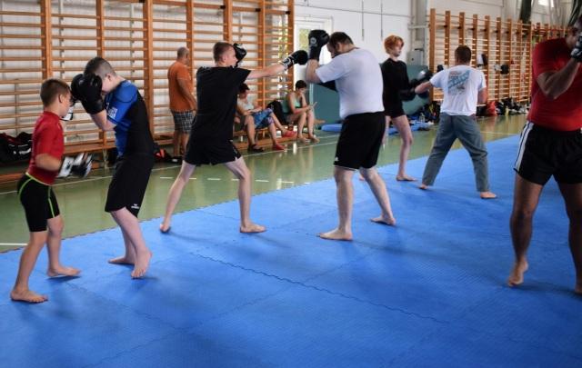 Combat Grappling edzés