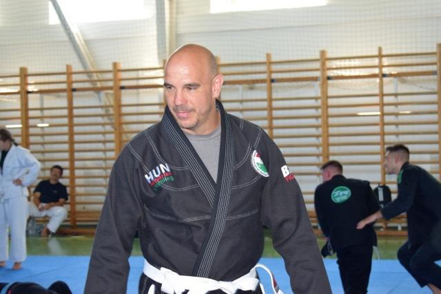 Mátyási Zoltán birkózó edzőnk maga is beállt a Gi edzésre